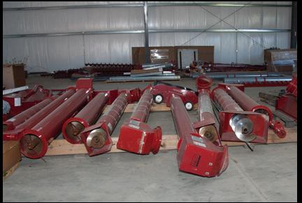 Unloading Equipment Huffman Farm Supply