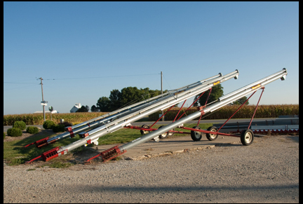 Transport Augers Huffman Farm Supply